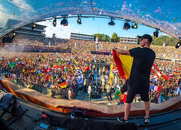 A comunidade do hardstyle conquista (finalmente) o mainstage do Tomorrowland