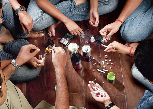 As novas gerações não querem saber de drogas