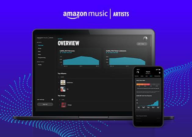 Como ter acesso ao perfil de artista na Amazon Music