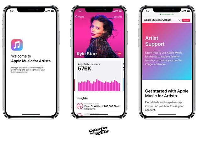 Como ter o perfil de artista verificado na Apple Music